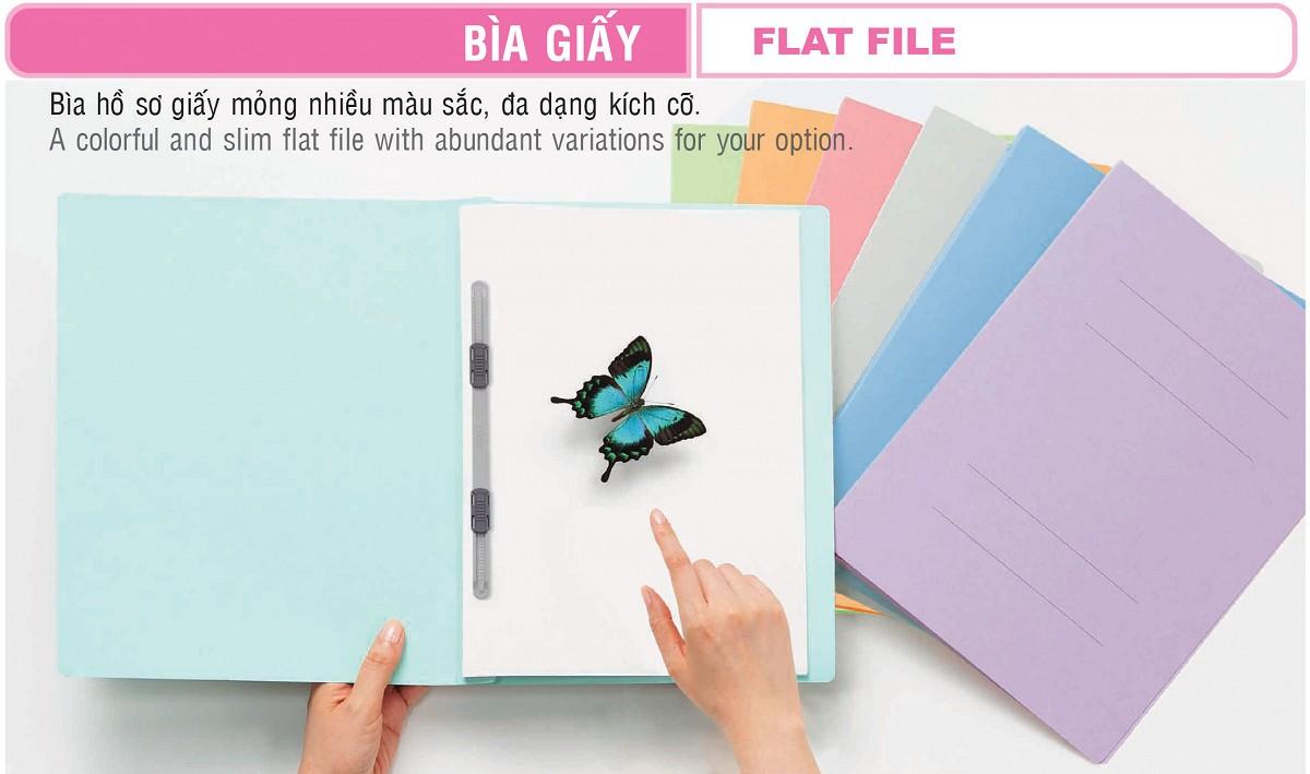 Bìa acco giấy có kẹp A4-S/021N plus (180 tờ)